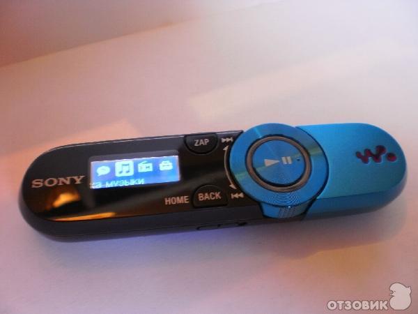 Отзыв: MP3-плеер Sony Walkman NWZ-B153F - СониСтайл.