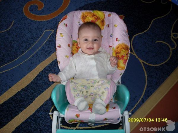 Отзыв: Стул для кормления Няня Трансформер 4 в 1 - Отличный стульчик для кормления для детей до года.
