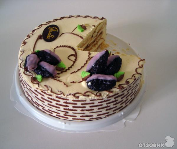 Торт от палыча с черносливом как готовить прослойку рецепт видео
