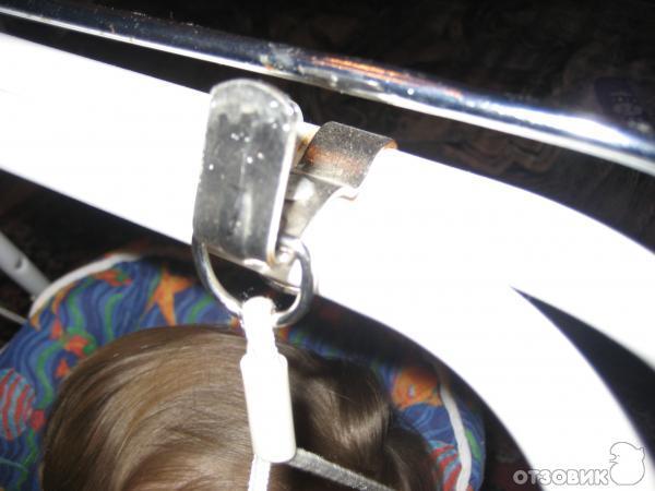 """4 - кресло-качалка-шезлонг.  Скруглённое основание стула-трансформер для кормления  """"Няня 4 в 1 """" позволяет..."""