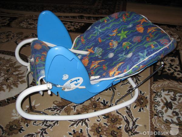 Отзыв: Стул для кормления Няня Трансформер 4 в 1 - Стул-стол-шезлонг-качалка-качели для ребёнка.