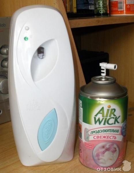 Отзыв: Автоматический освежитель воздуха AirWick FreshMatic - Освежитель в целом понравился.