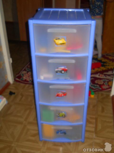 Комоды для хранения игрушек