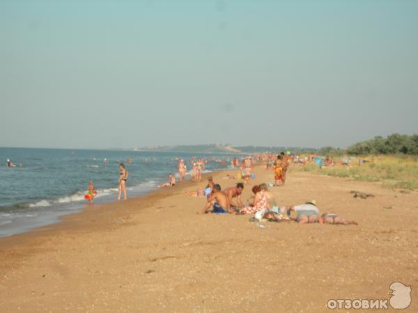 час пик на центральном пляже