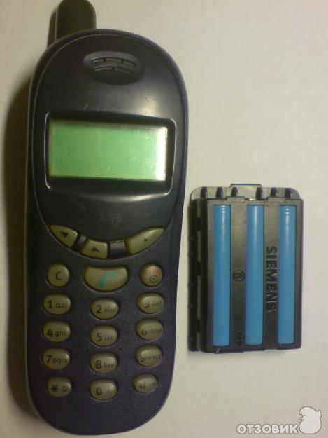 Отзыв о Сотовый телефон Siemens A35 | Самый обычный телефон